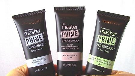 Cách sử dụng kem lót Maybelline Primer Master