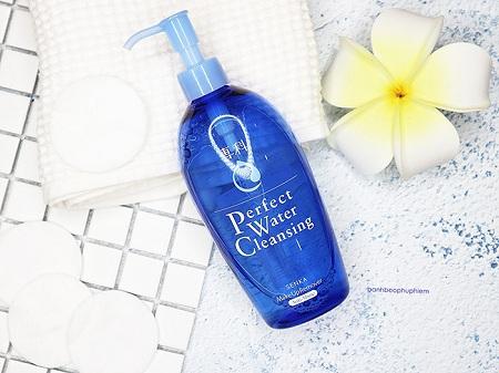 Nước tẩy trang Senka Perfect Water Cleansing cho da khô