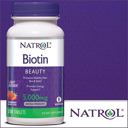 Thành phần thuốc mọc tóc Biotin