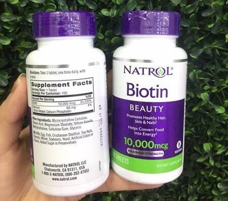 Thuốc uống mọc tóc Biotin có tốt không?