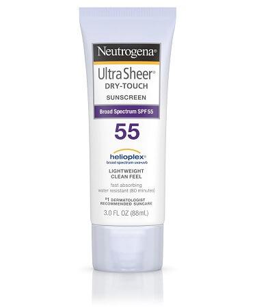 Kem chống nắng Neutrogena SPF 55 Ultra Sheer Dry Touch