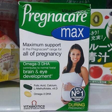 Vitamin tổng hợp cho bà bầu Pregnacare Max có tốt không