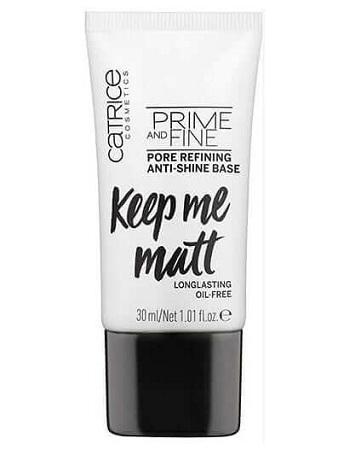 Kem lót Catrice Keep Me Matt (Màu Trắng)