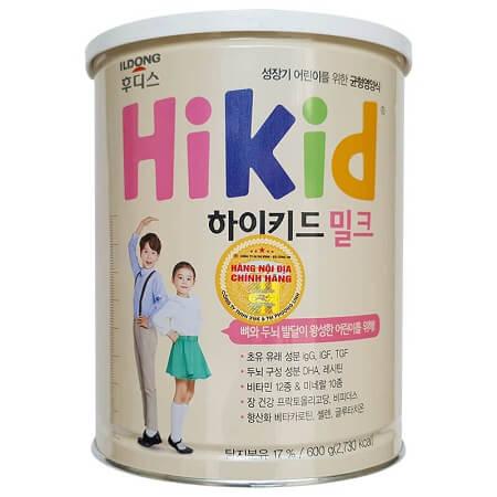Sữa Hikid Hàn Quốc bổ sung DHA giúp trẻ thông minh hơn