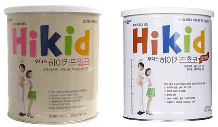 Sữa Hikid Vani và sữa HiKid Socola