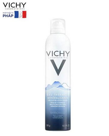 Cách dùng xịt khoáng Vichy Mineralizing Thermal Water