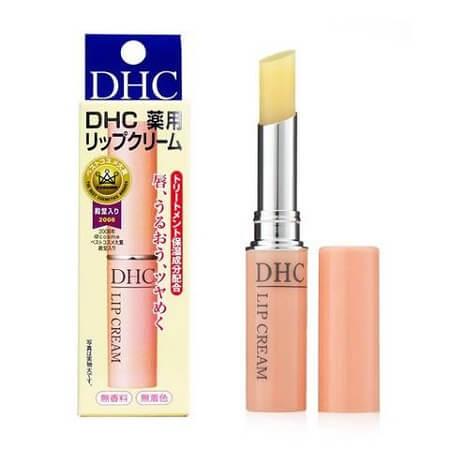 Son dưỡng DHC không màu Lip Cream