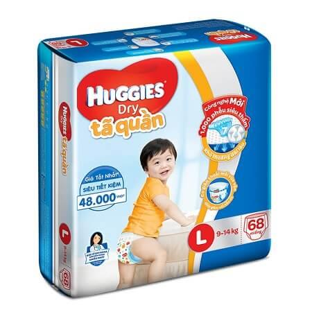Bỉm Huggies size L