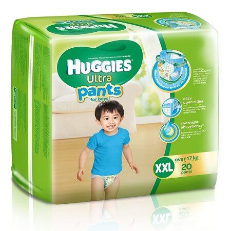 Các dòng sản phẩm tã bỉm Huggies