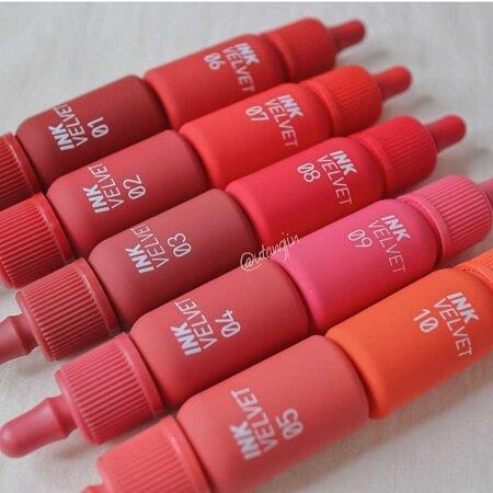 Son Peripera Ink Velvet Lip Tint