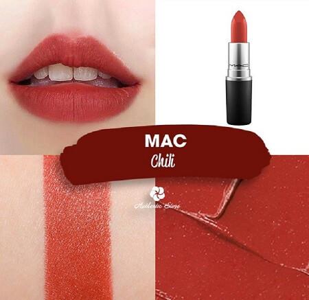 Son Mac chili là màu gì?