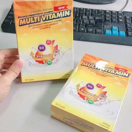 Đối tượng sử dụng thuốc tăng cân Multi Vitamin Thái Lan