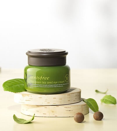 Kem Dưỡng Mắt Innisfree The Green Tea Seed Eye Cream