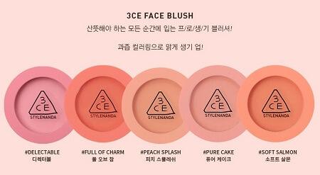 Phấn má hồng 3CE Face Blush