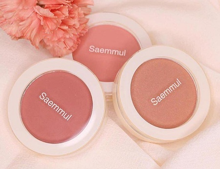 Phấn má hồng The Saem Saemmul Single Blusher
