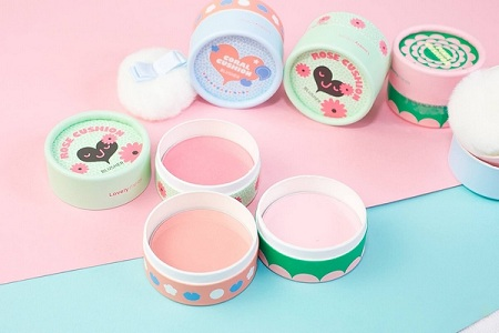 Phấn Má Hồng The Face Shop Lovely Meex Cushion Blusher