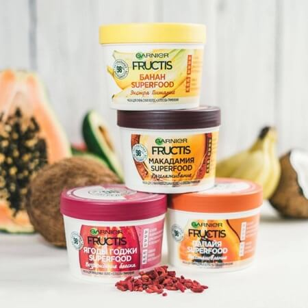 Kem Ủ Tóc Garnier Fructis