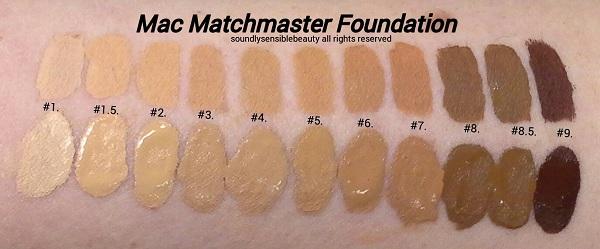 Bảng màu Mac Matchmaster