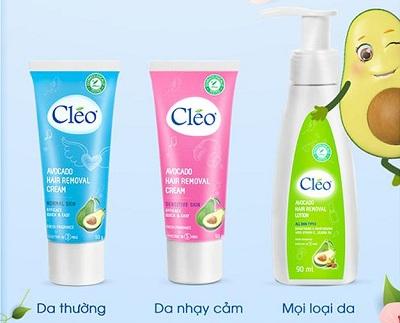 Thiết kế Bao Bì Kem Tẩy Lông Cleo