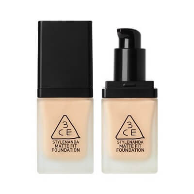 Kem Nền 3CE Matte Fit Foundation 35g