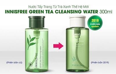 Nước Tẩy Trang Trà Xanh Innisfree Green Tea