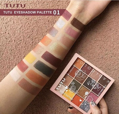 Bảng Mắt Tutu Kaqi Color Xoxo Dating 16 ô