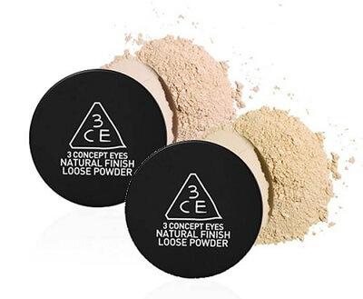 Phấn phủ bột 3CE Natural Finish Loose Powder 20g