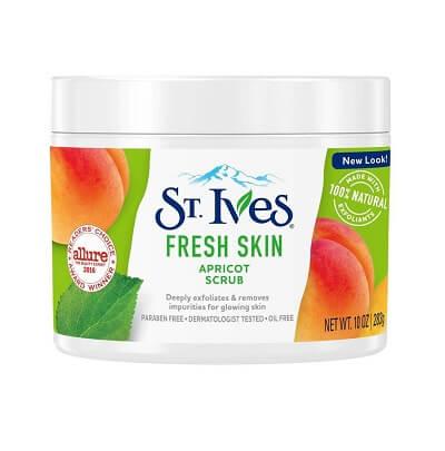 Tẩy da chết toàn thân St.Ives Fresh Skin Apricot Body Scrub