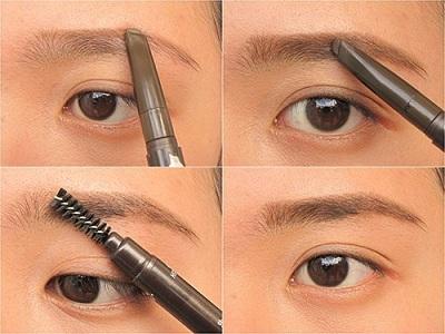 Hướng dẫn Chì kẻ mày The Face Shop Designing Eyebrow Pencil