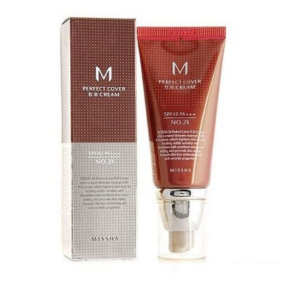 Thiết kế kem nền Missha M Perfect Cover BB Cream SPF42/PA++ 50ml