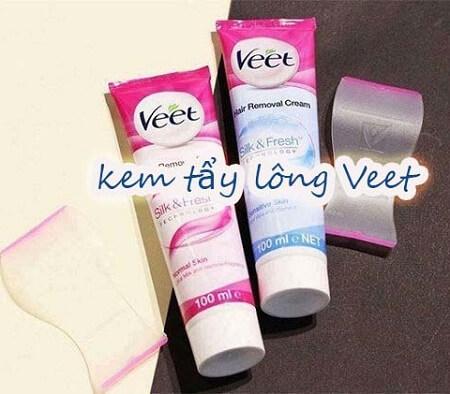 [Review] Kem tẩy lông Veet có tốt không? Công Dụng? Cách dùng? Giá bao nhiêu?