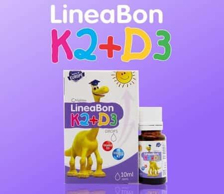 [Review] Lineabon K2+D3 Vitamin tăng chiều Cao, chống còi xương cho trẻ sơ sinh?!