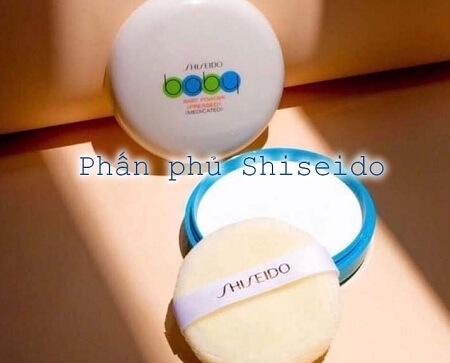 Phấn Phủ Shiseido Baby Powder Pressed Medicated có tốt không?