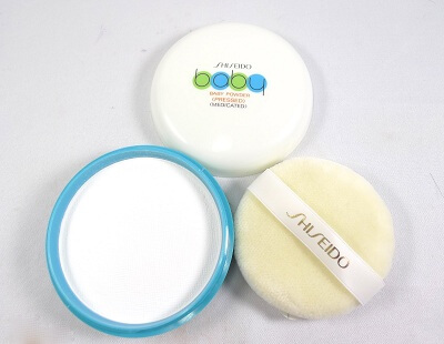 Thiết kế bao bì Phấn Phủ Shiseido Baby Powder Pressed Medicated 50gr