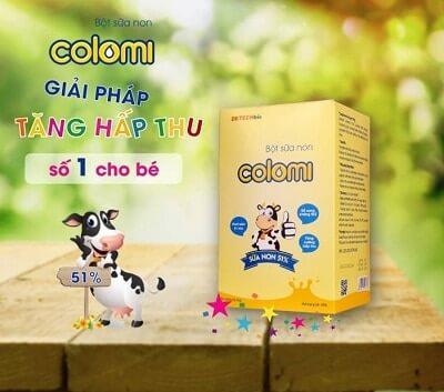 Đối tượng sử dụng sữa non Colomi