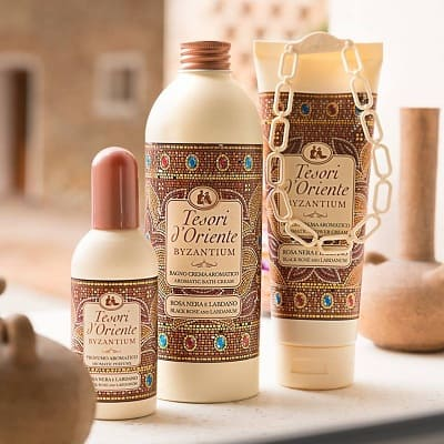 Sữa tắm nước hoa Tesori D'oriente có mấy loại? phù hợp da nào?
