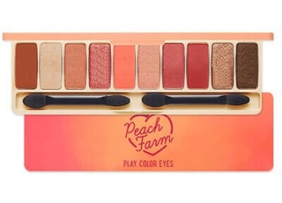 Bảng màu mắt 10 Ô Etude House Play Color Eyes Peach Farm