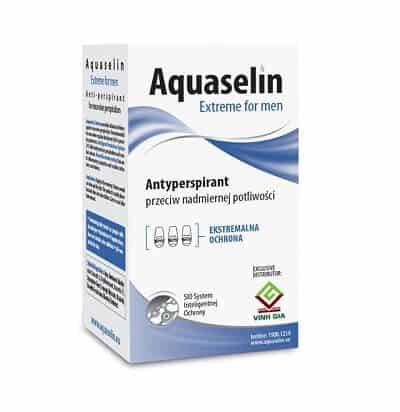Lăn nách khử mùi Aquaselin Extreme For Men (xanh đậm)