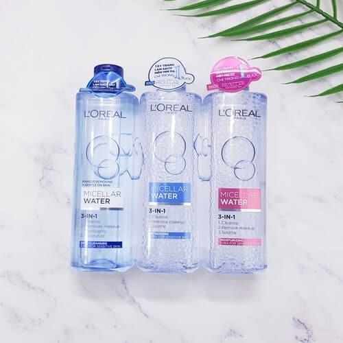 Nước tẩy trang L'Oreal có tốt không?