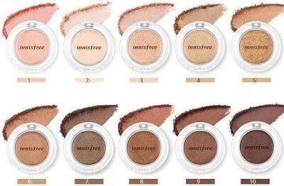 Phấn mắt Innisfree Makeup Mineral Single Shadow