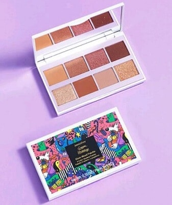 Phấn trang điểm mắt Innisfree Glam Mood Palette Green Holidays Limited Edition 10g