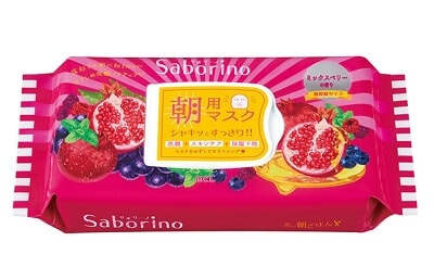 Mặt nạ Saborino Morning Mask màu hồng
