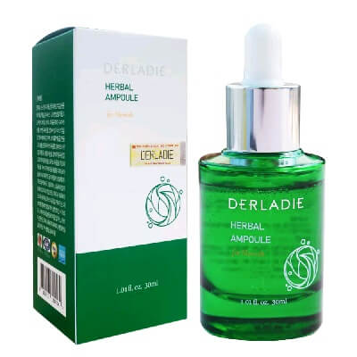 Công dụng Serum Derladie Herbal Ampoule For Blemish