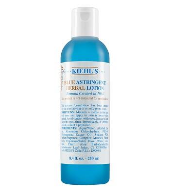 Nước Hoa Hồng Kiehl's Cho Da Dầu Mụn Toner Blue Astringent Herbal Lotion