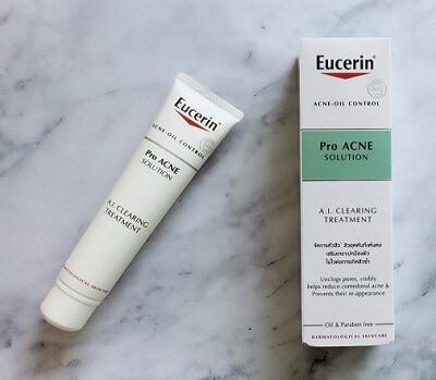 Công dụng kem trị mụn Eucerin