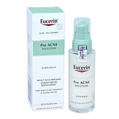 Tinh chất trị mụn Eucerin ProAcne Solution Super Serum 30ml