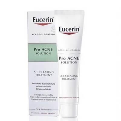 Hướng dẫn sử dụng trị mụn Eucerin