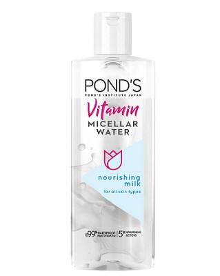 Bao bì thiết kế nước tẩy trang Vitamin Pond's Micellar Water