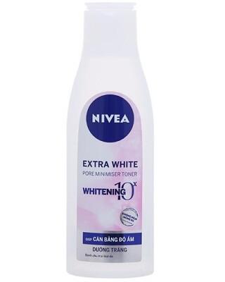 Nước hoa hồng Nivea Extra White Pore Minimiser