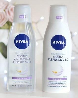 Thành phần nước hoa hồng Nivea